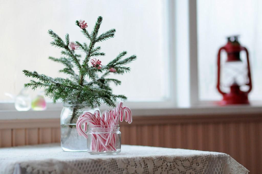 Köyhän joulukoristeita