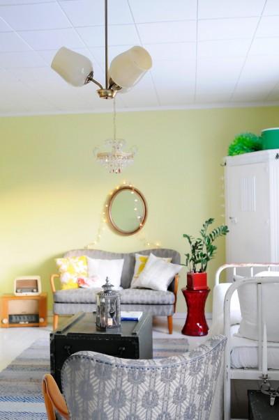 Livingroom fully furnished