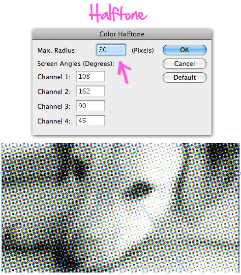 Creating A Halftone Poster