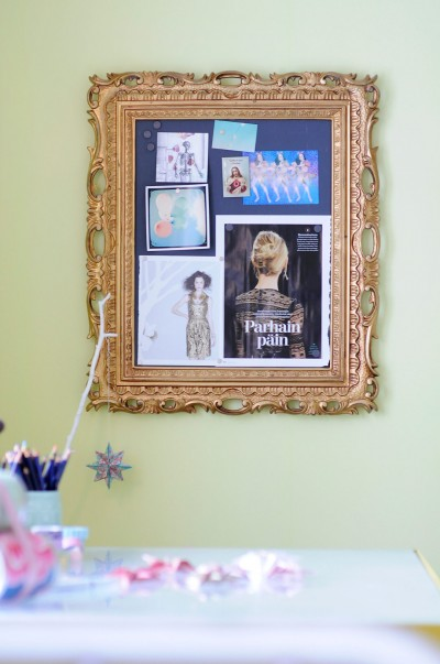 DIY Magnetic Inspiration Board