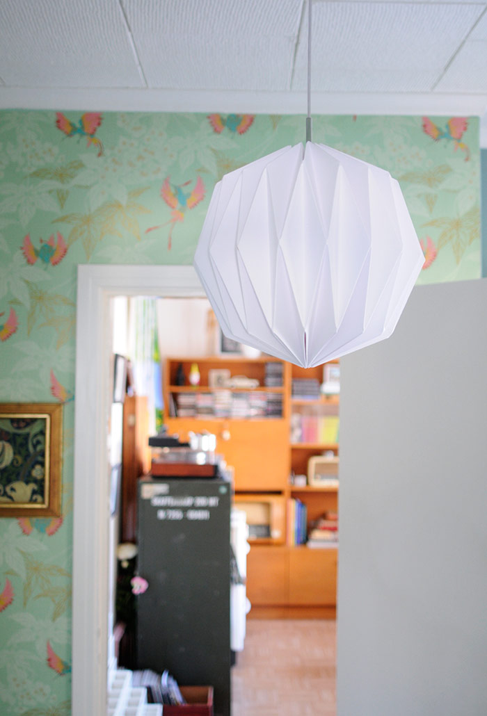 DIY Origami Lamp Shade