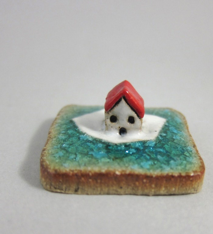 Tiny Ceramic Landscapes by Elukka