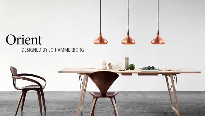 Orient pendant by Jo Hammerborg