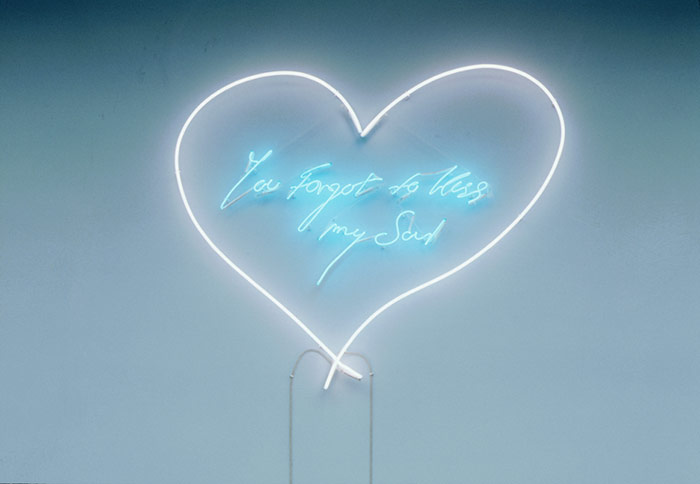 Tracey Emin - You Forgot to Kiss My Soul