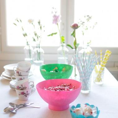 DIY Translucent Bowls