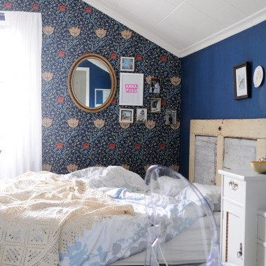 Bedroom with William Morris – Finally