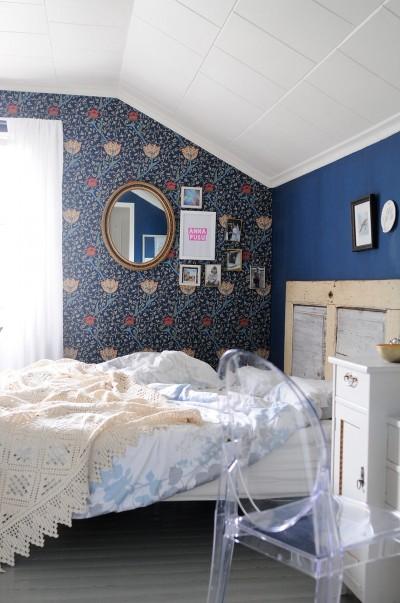 William Morris makuuhuoneessa – viimeinkin