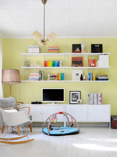 Blogihylly eli Ikea Ekby Järpen / Ekby Gällö ja Ikea PS Cabinet
