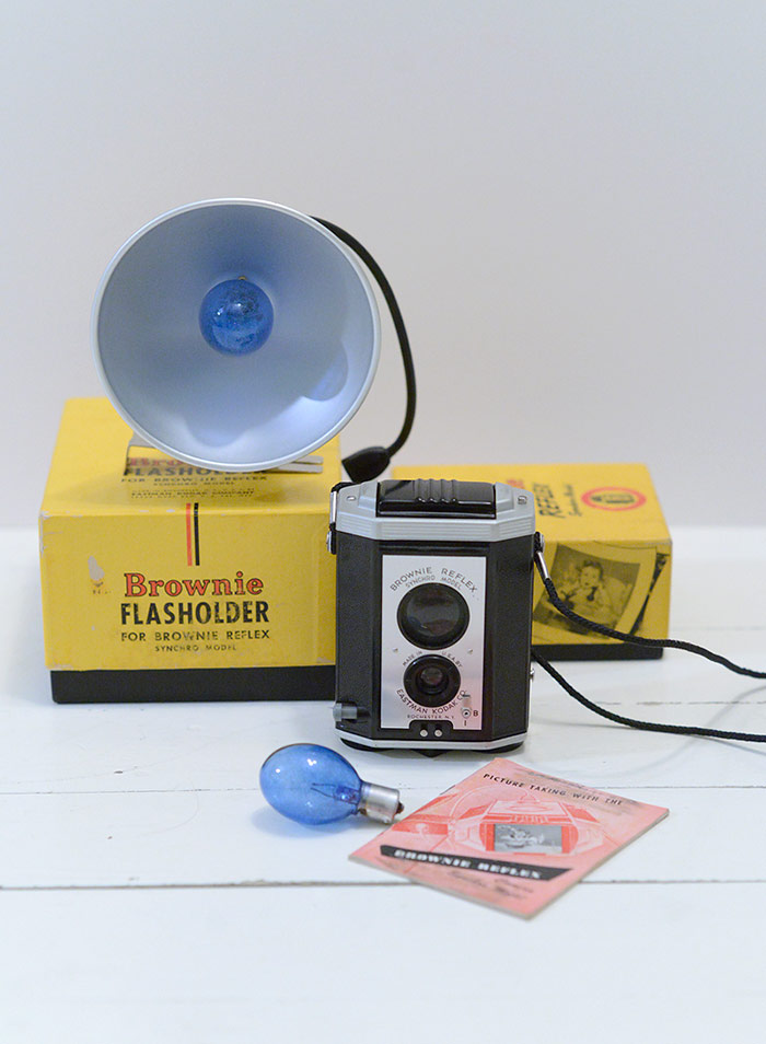 Brownie Reflex Synchro Model with Flashholder