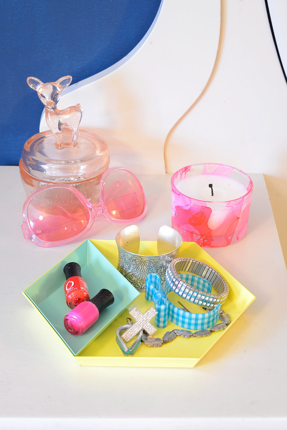 DIY Marble Glass and POP Blogit