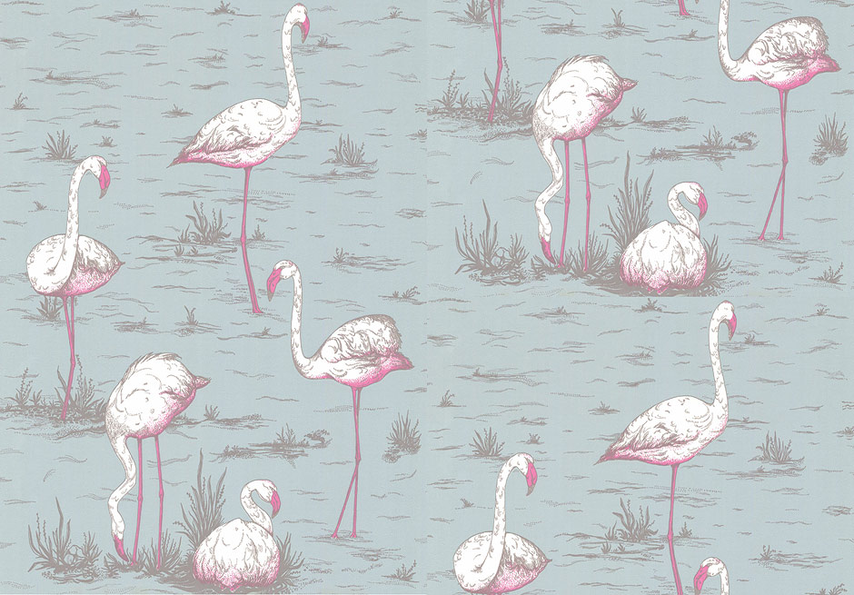 Flamingos wallpaper by Cole&Son