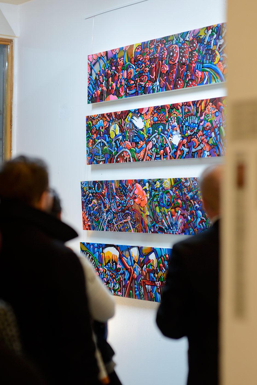 Petri Kulju's Art Show in Galleria Kooma