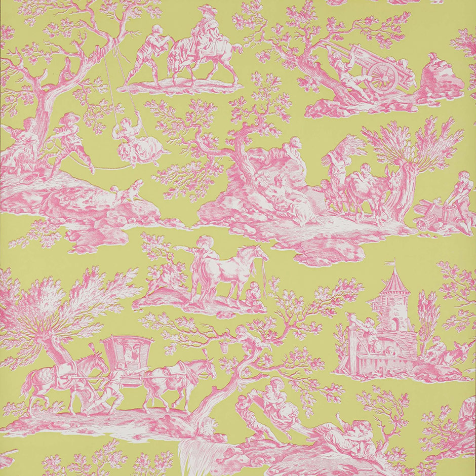 La Musardiere wallpaper by Manuel Canovas