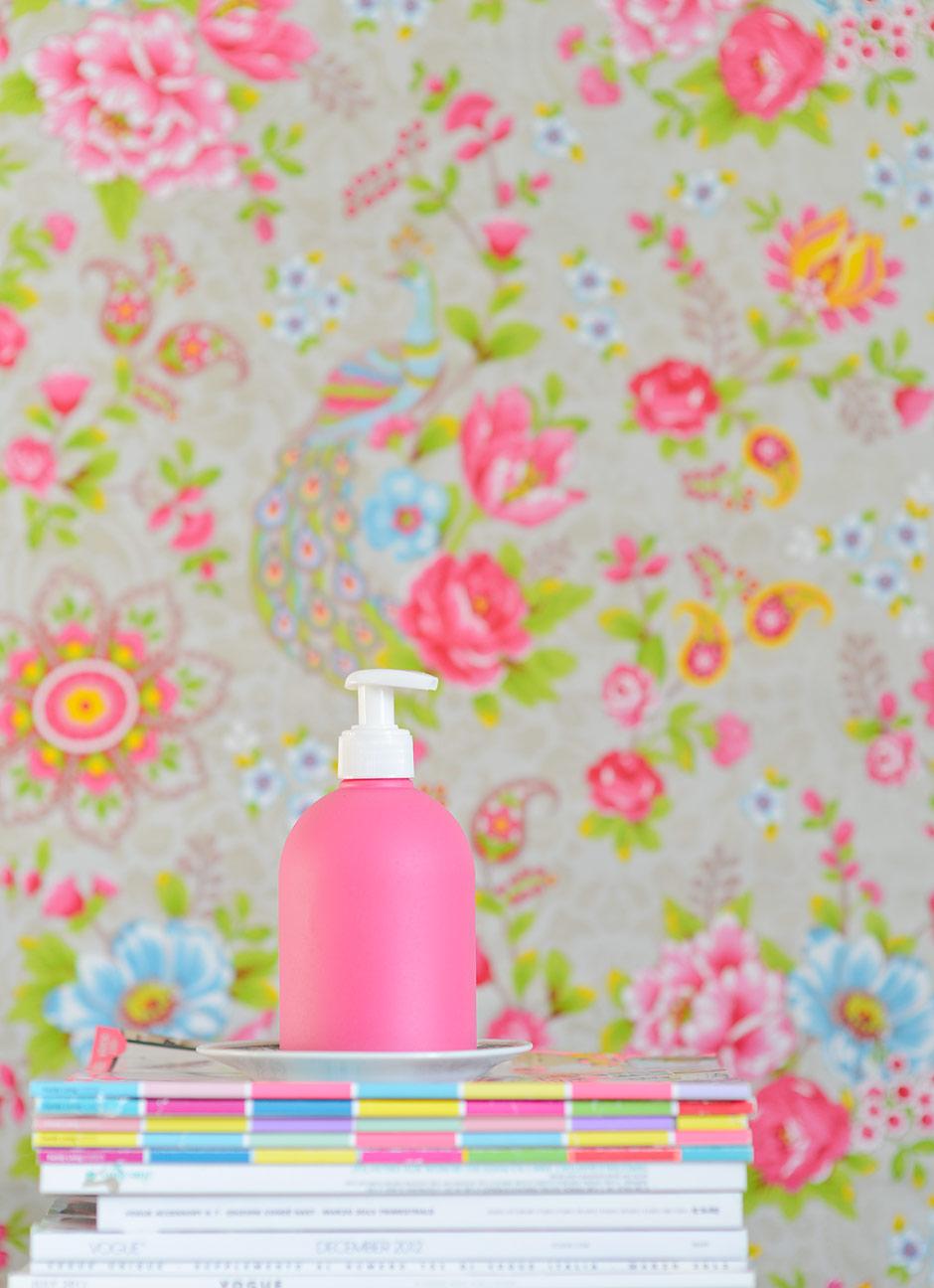 Paint Your Hand Sanitizer Romantic Pink
