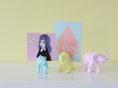 DIY Toy Animal Picture Holders