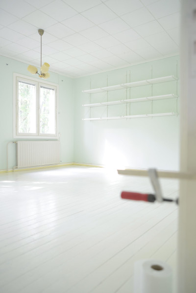 Painting Wooden Floors