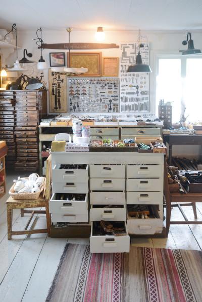 Vintage-ihanuuksia Lundagårdissa