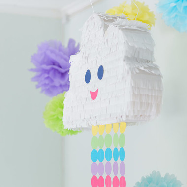 My Son's Second Birthday Party And A DIY Cloud Pinata