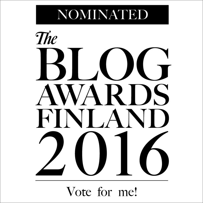 The Blog Awards Finland 2016