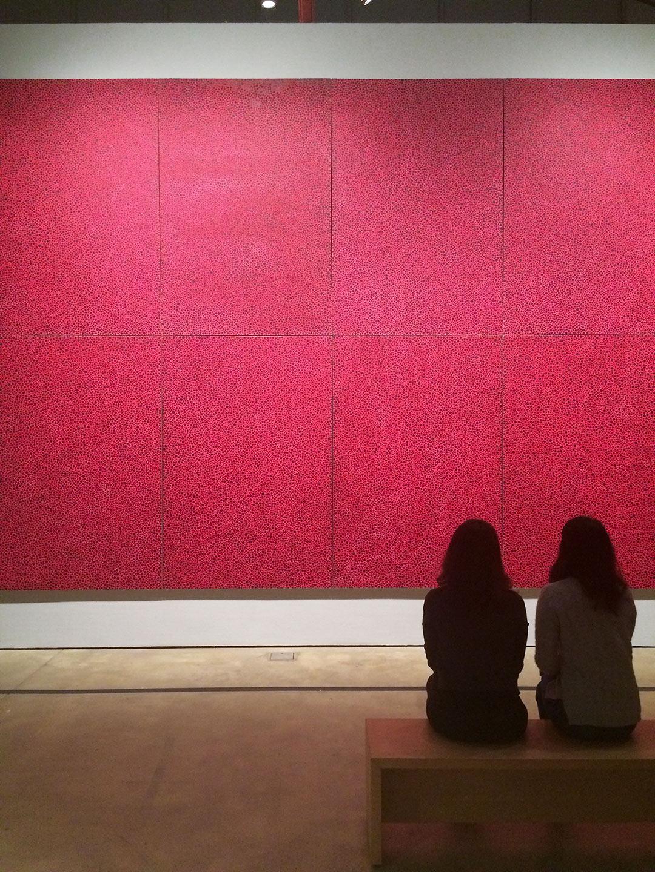 Yayoi Kusama at Helsinki Art Museum