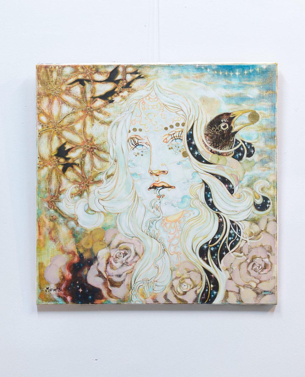 Maria Raasakan My Starlings -näyttely Galleria Koomassa