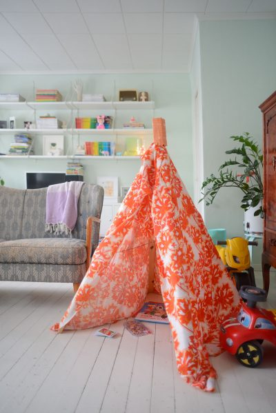 DIY Playtent for Kids