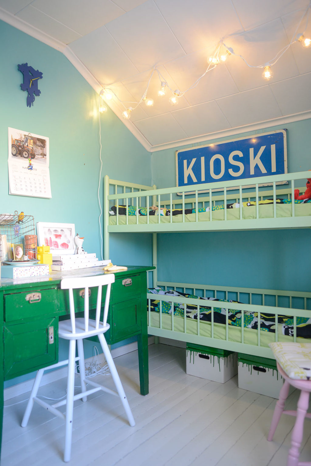 Toning Down The Kids Room