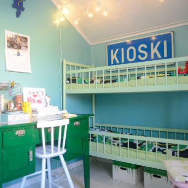 Hillitympää menoa lastenhuoneessa