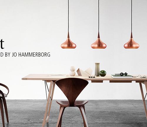 Orient Lamp by Jo Hammerborg