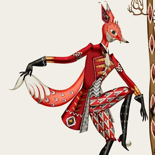 Klaus Haapaniemi Illustrates Tanssi for Iittala